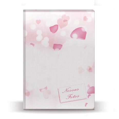 Imagem de Álbum de Fotos Casamento Pétalas Coração 500 Fotos 10x15