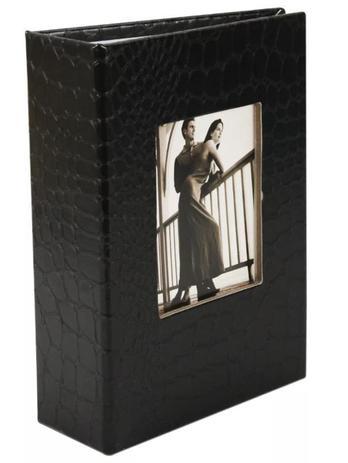 Imagem de Album De Luxo Preto Para 100 Fotos 10x15 Com Visor PP-46100-50-PO