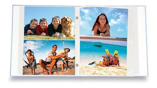 Imagem de Álbum Infantil 200 Fotos 10x15cm Rebite - Ical 297