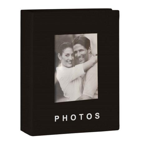 Imagem de Album para Fotografias Yes para 100 Fotos 13x18cm Preto 1 UN Yes