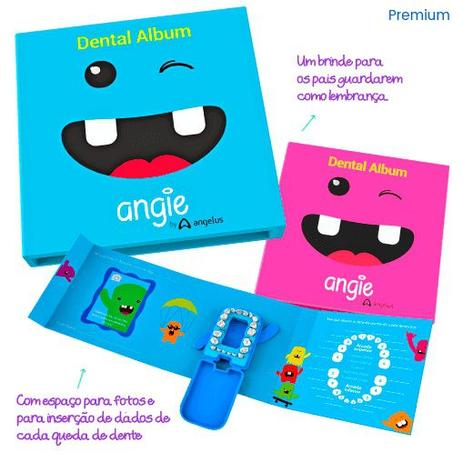 Imagem de Álbum Porta Dente de Leite ROSA Estojo Porta Dente de Leite Caixinha para dente de Leite Porta Dentes de Leite Infantil