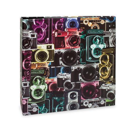 Imagem de Álbum Scrapbook Quadrado 15 folhas pretas  Ical 908