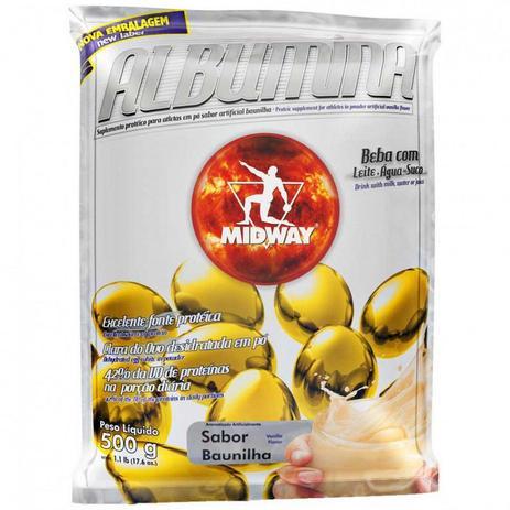 Imagem de Albumina - 500 gramas - Midway