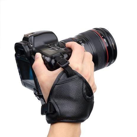 Imagem de Alça De Mão Triangular Hand Grip Camera Dslr  Nikon Canon