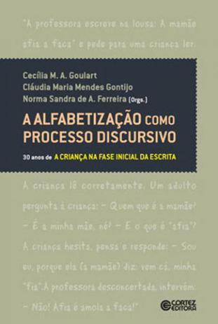 Imagem de Alfabetizaçao como processo discursivo, a