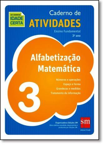 Imagem de Alfabetização Matemática: Caderno de Atividades - 3º Ano