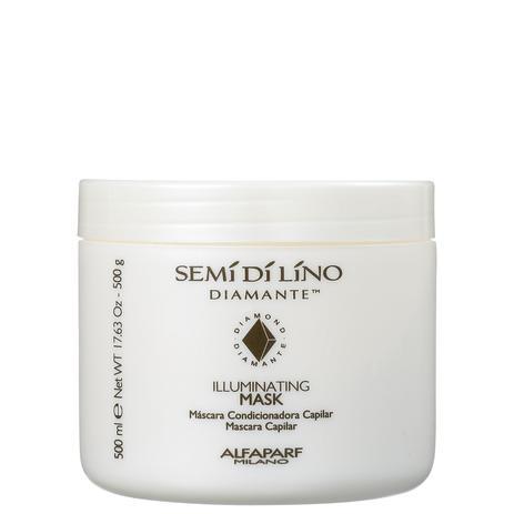 Imagem de Alfaparf Semi di Lino Diamante Illuminating - Máscara Capilar 500g