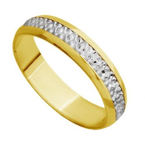 1cbfcfb3284 Aliança Casamento em Ouro 18k Bodas de Prata Feminina abp21 - Joiasgold