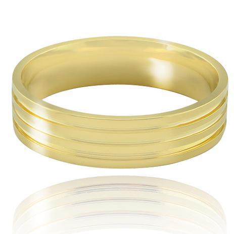 4ab6c731014 Aliança casamento trabalhada em ouro 18K Florença - Neo joalheiros ...