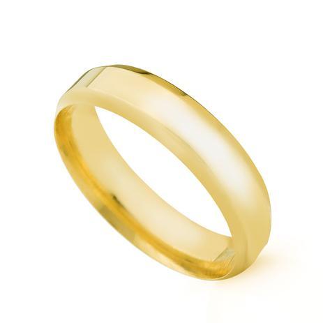 Aliança de Casamento em Ouro 18k 4,5mm Anatômica Masculina ear45sa -  Joiasgold 8240feacb8
