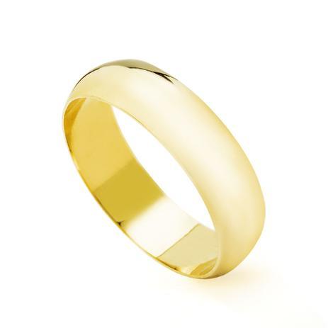 Aliança de Casamento em Ouro 18K 5,0mm Feminina ta50 - Joiasgold ... 1076bb7927