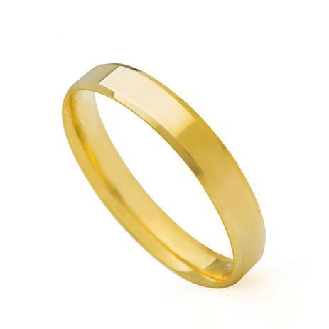 Aliança de Casamento em Ouro 18k Anatômica Feminina ear35sa - Joiasgold 16346c1894