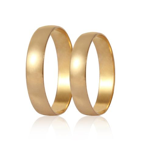 Aliança de Ouro T66 - Par - Rosana Joias - Joia e Bijuteria ... 34d495dd60