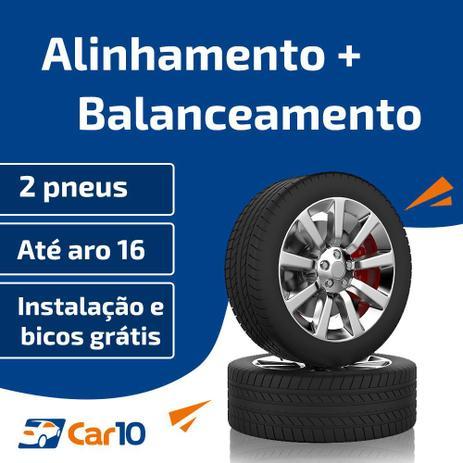 Imagem de Alinhamento + Balanceamento + Instalação de 2 pneus