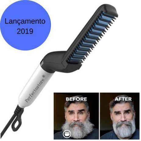 Imagem de Alisador De Barba E Cabelo Barbeiro Chapinha Hair Lançamento