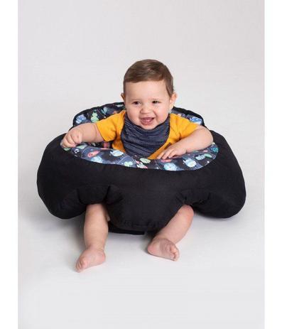 Imagem de Almofada Apoio Segura Bebê Sentar Puff Berço Portatil Astronautas