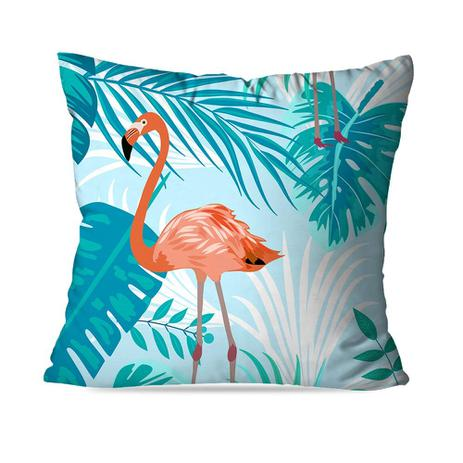 172dd1bd8 Almofada Avulsa Decorativa Flamingo Blue - Love decor - Almofada ...