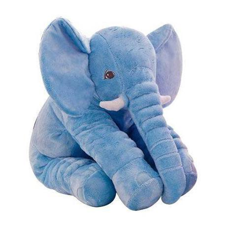 Imagem de Almofada Elefante Azul Gigante - Buba Toys