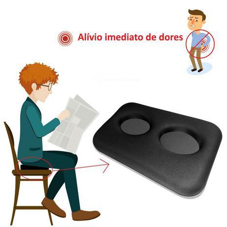 Imagem de Almofada Painless para Alívio de Dores no Coccix, Lombar, Nervo Ciático - Ortopédica