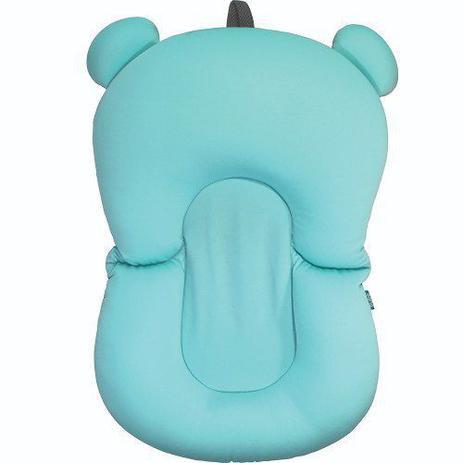Imagem de Almofada Para Banho Na Banheira Bebê Azul Buba Baby