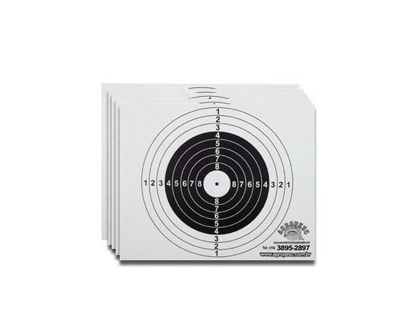 Imagem de Alvo de papel para Coletor - 100 unidades