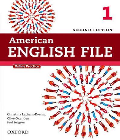 Imagem de American English File 1 - Student Book - 02 Ed