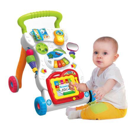 Menor preço em Andador Educativo Musical Didático 8 brinquedos Baby Style