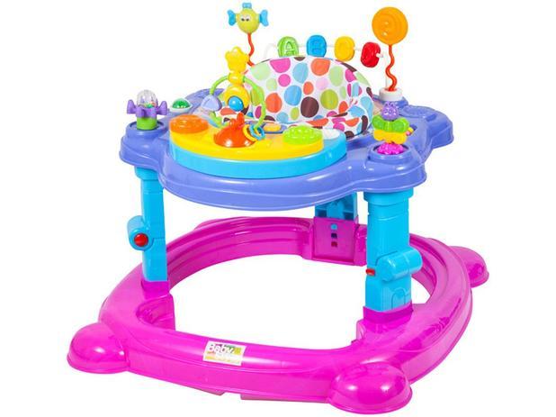 f6b574763c7e41 Andador para Bebê com Bandeja Musical - Baby Style Meninas ...