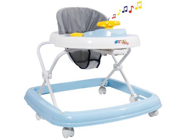 08499b4432 Andador para Bebê com Bandeja Musical Styll Baby - Sonoro - Andador ...