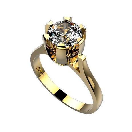 Anel Esférico Ouro 18k Com 1 Esmeralda 10 Diamantes De 06 Pontos 960c49ca0e