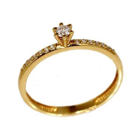 7637ad5441bb5 Anel Solitário Ouro 18k Diamantes - cod.8885 - Retran joias - Joia e ...