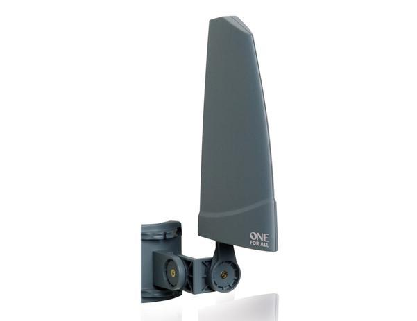 Imagem de Antena para TV One for All externa amplificada recepciona os sinais