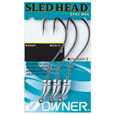 Anzol Owner Sled Head Nº4 0 7g 3un - Anzol - Magazine Luiza 4487d50afb8
