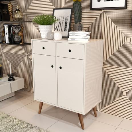 Imagem de Aparador Buffet Living Retrô - Off White - RPM Móveis