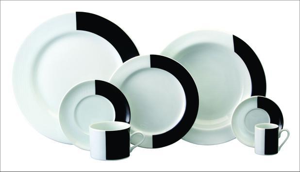 Imagem de Aparelho de Jantar e Chá Porcelana Schmidt 30 Peças - Dec. Sedna