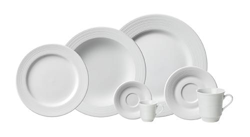 Imagem de Aparelho de Jantar e Chá Porcelana Schmidt 30 Peças - Mod. Saturno