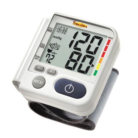 Imagem de Aparelho De Medir Pressão Digital Pulso Com Estojo