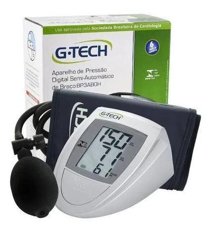 Imagem de Aparelho De Medir Pressão Digital Semi Automático De Braço G-tech
