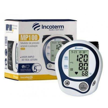 Imagem de Aparelho de Pressão Arterial Pulso Digital Incoterm MP100