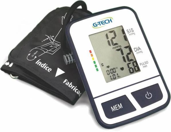 Imagem de Aparelho de Pressão Digital Automático de Braço G-Tech Home BSP11