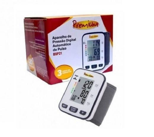 Imagem de Aparelho De Pressão Digital Automático De Pulso Bsp21 Premium