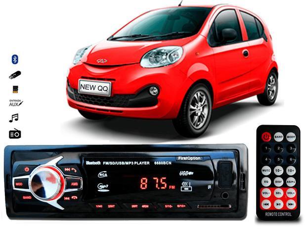 Imagem de Aparelho De Som Mp3 Chery Qq Bluetooth Pendrive Rádio