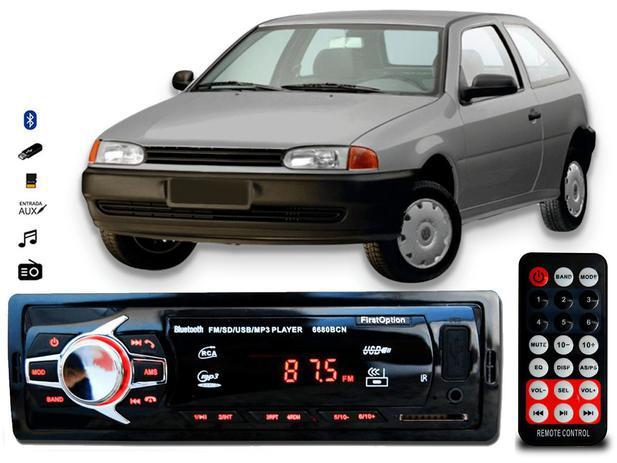 Imagem de Aparelho De Som Mp3 Vw Gol G2 Bluetooth Pendrive Rádio