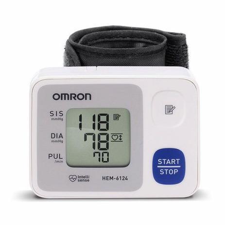 Imagem de Aparelho digital de pressão arterial de pulso Omron 6124