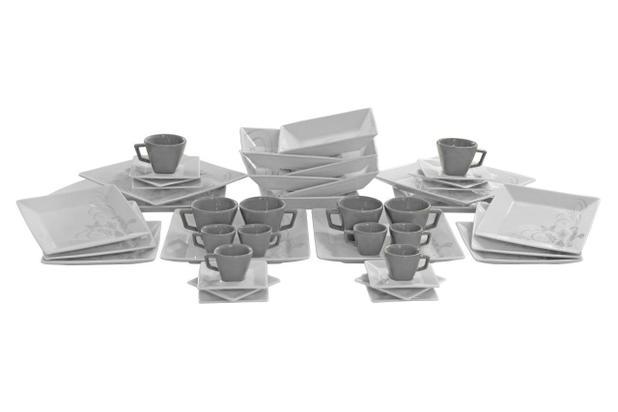 Imagem de Aparelho Jogo de Jantar Chá e Café Oxford Mail Order Quartier Tattoo com 42 Peças