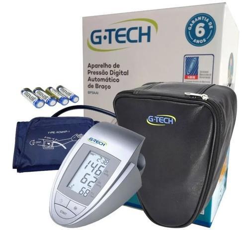 Imagem de Aparelho Medidor De Pressão Arterial Digital Automático G-Tech BP3AA1