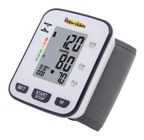Imagem de Aparelho Medidor De Pressão Digital Automático Pulso Premium