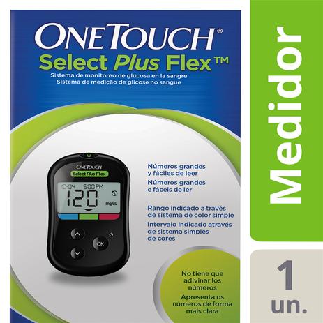 Imagem de Aparelho Medidor OneTouch Select Plus Flex