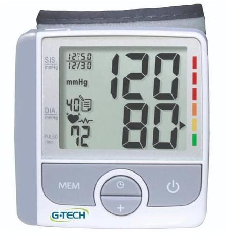 Imagem de Aparelho Monitor Medidor De Pressao Arterial Automatico De Pulso G TECH