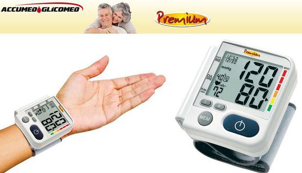 Imagem de Aparelho Monitor Pressão Arterial Digita Pulso Lp200 Premium